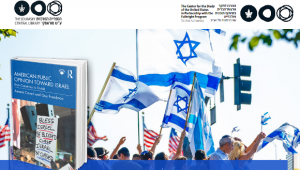 American public opinion toward Israel: from consensus to divide; Cavari Amnon, Freedman, Guy